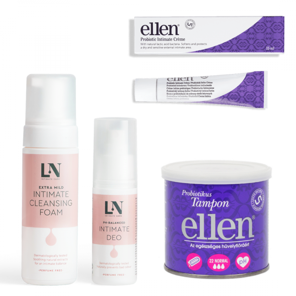 Ellen® Intimate Total Care Package