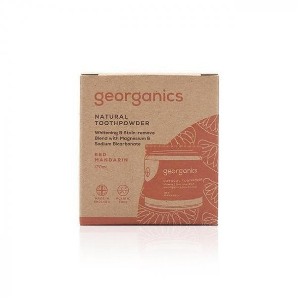 Natural Toothpowder - Red mandarin 120ml