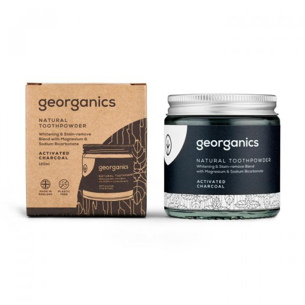 Natural Toothpowder - Activated Charcoal
