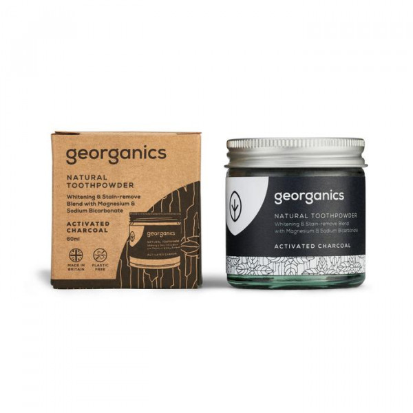Natural Toothpowder - activated charcoal 60ml