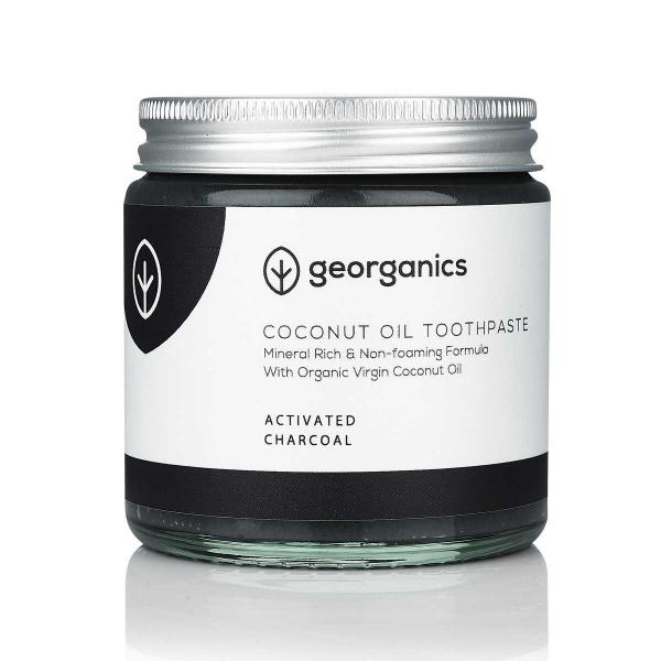 Coconut Oil Toothpaste - Activated Charcoal 120ml