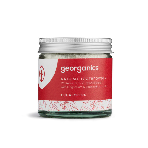 Natural Toothpowder - Eucalyptus 60ml