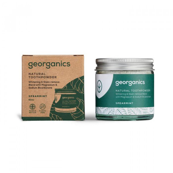 Natural Toothpowder - Spearmint 120ml