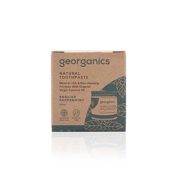 Kókuszolajos fogkrém- Angol borsmenta, 120 ml