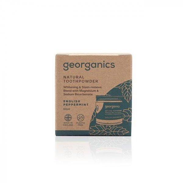 Kókuszolajos fogkrém- Angol borsmenta, 60 ml