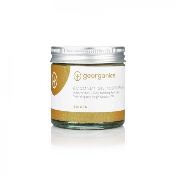 Kókuszolajos fogkrém- Gyömbér 60 ml