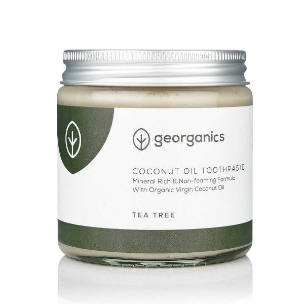 Kókuszolajos fogkrém- Teafa, 60 ml