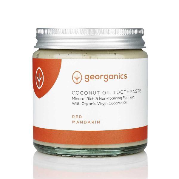 Kókuszolajos fogkrém- Vörösmandarin 60 ml