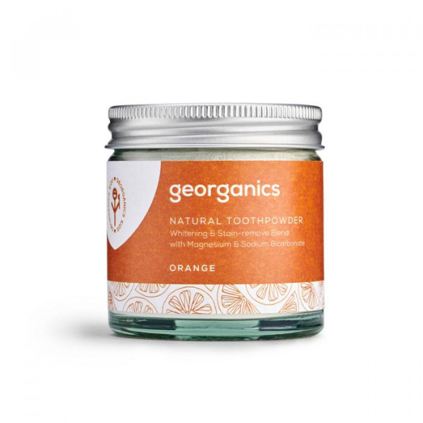 Natural Toothpowder - Orange 60ml