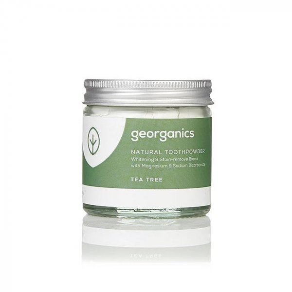 Natural Toothpowder - Tea Tree 60ml