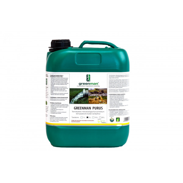 Greenman Purus wastewater cleaner 5 l