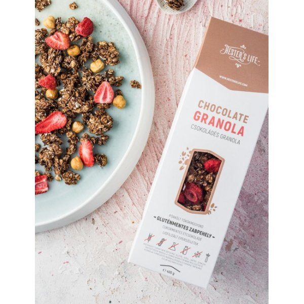 Chocolate granola - granola with chocolate - 400 g...