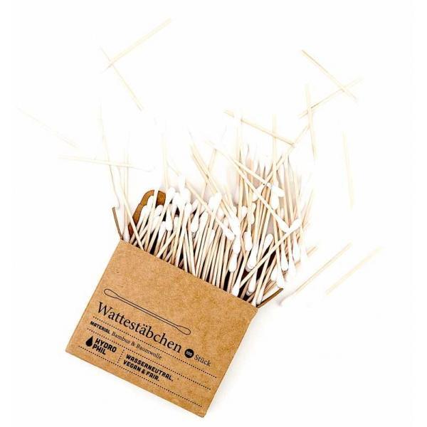 Pamut bambusz fültisztító pálcika