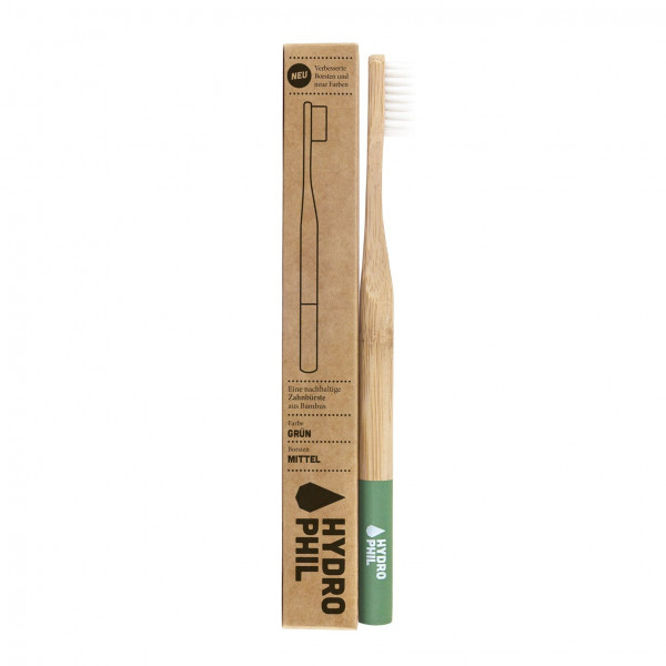 Sustainable toothbrush - red medium 1pc