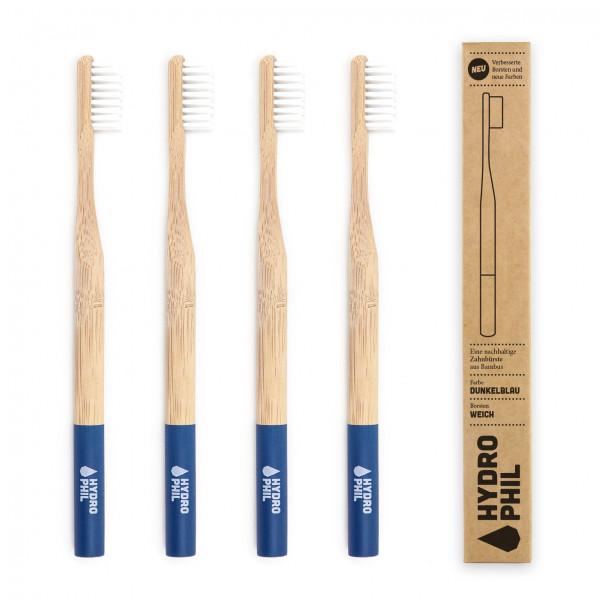 Sustainable toothbrush - dark blue extra soft 1pc