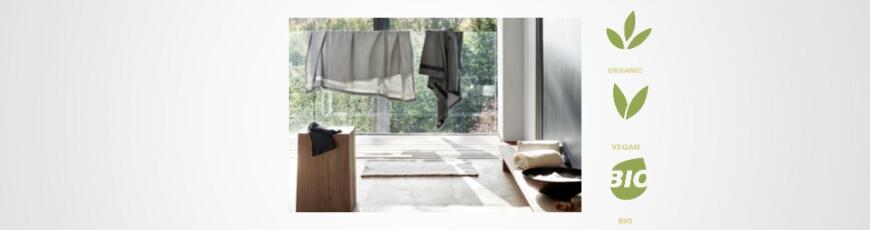 Organic cotton bathroom textiles