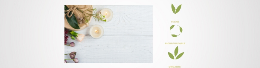 Candles and frangrance sachets