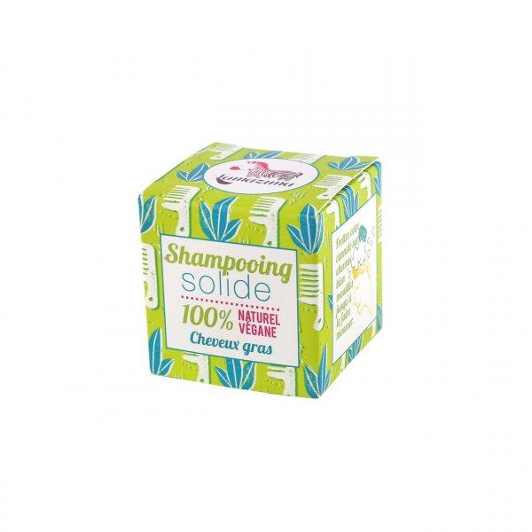 Solid shampoo for oily hair lemon