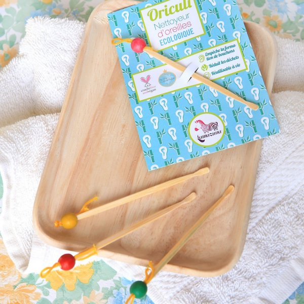 Oriculi bamboo ear cleaner