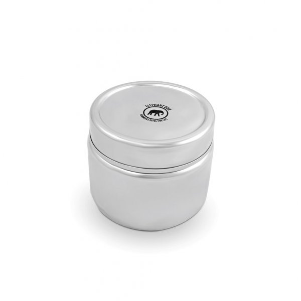 Round leakproof and airtight canister 450 ml