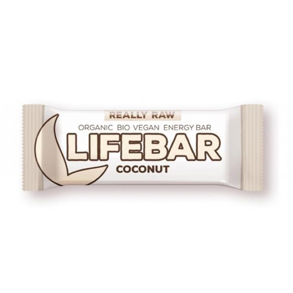 Lifebar BIO Kókuszos nyers energiaszelet 47 g