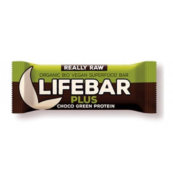 Lifebar Plus BIO Csokoládés növényi proteines ...