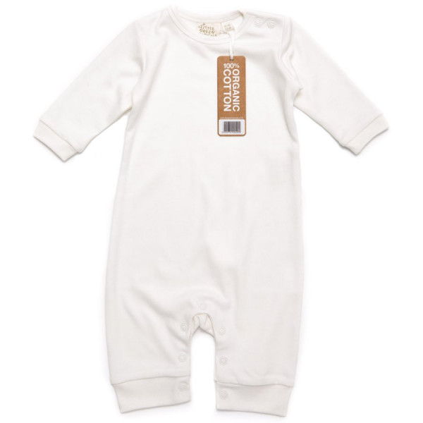 Long sleeve baby playsuit