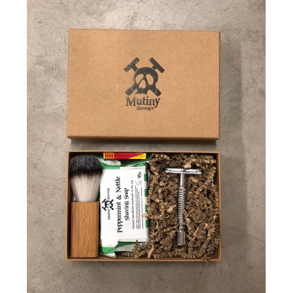 Mutiny Shaving Box – Peppermint and Nettle