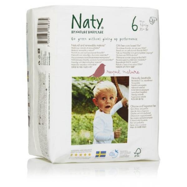 Naty® 6-os biopelenka 16+ kg