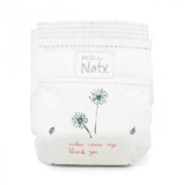 Naty Size 4 Eco Nappies For Babies 7-18 Kg economy...