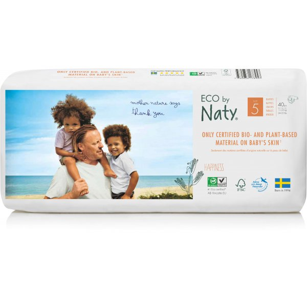 Naty® Size 5 Eco Nappies For Babies 11-25 Kg Econ...