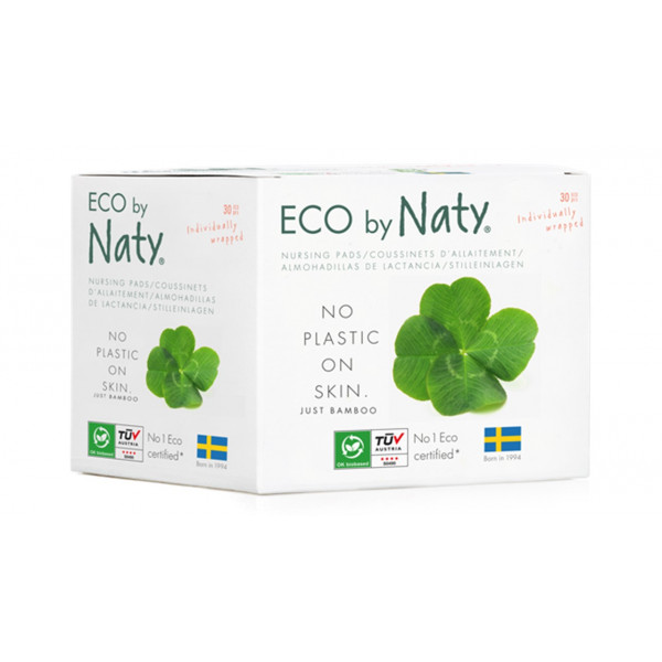 Naty nursing pads for mothers with new born babies, 30 pcs