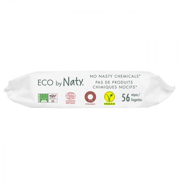 Naty sensitive wipes  with aloe, 56 pcs