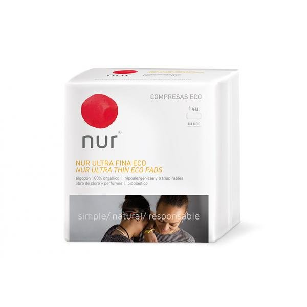 Nur eco ultra thin panty liner