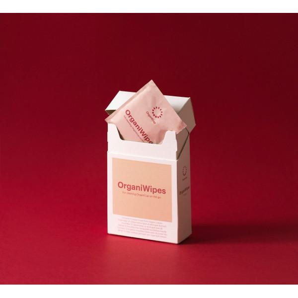 OrganiCup bio pamut törlőkendő menstruációs k...
