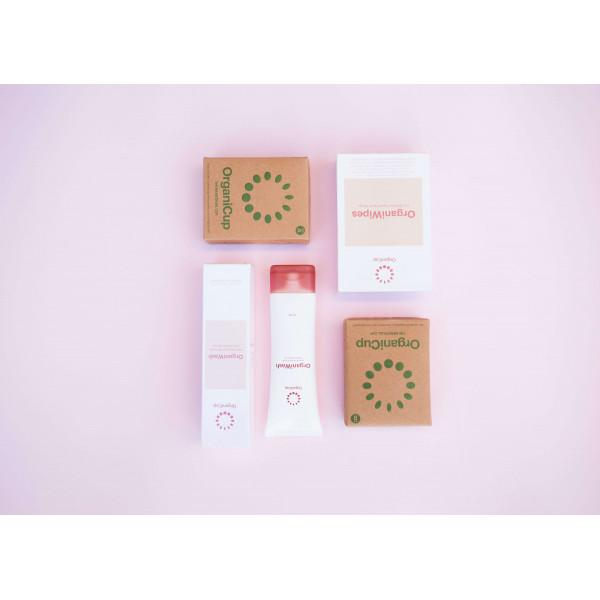 OrganiWipes for menstrual cup, 10 pcs
