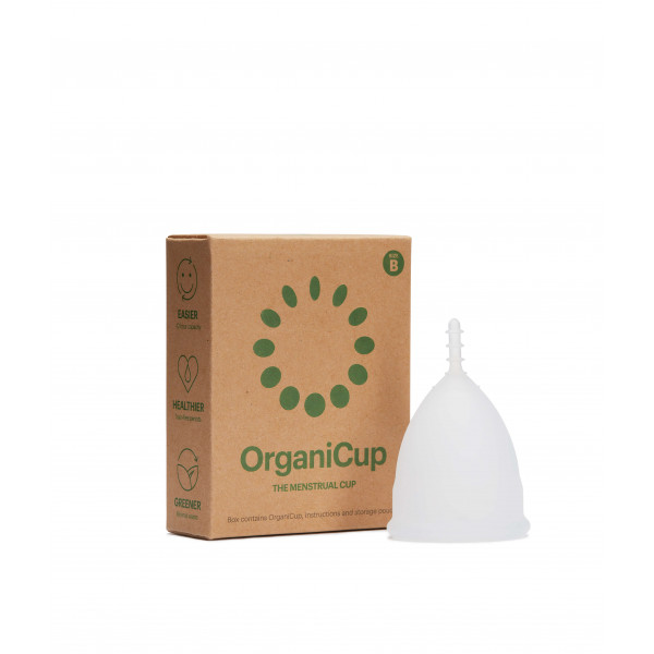 OrganiCup menstrual cup size B