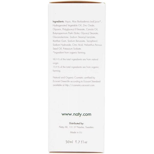 Naty Baby Rash Cream with aloe and shea butter 50ml