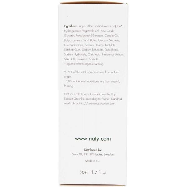 ECO by Naty Baby Rash Cream with aloe and shea butter 50ml