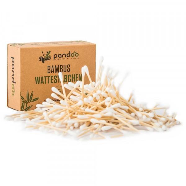 Bamboo and organic cotton swabs 100 pcs