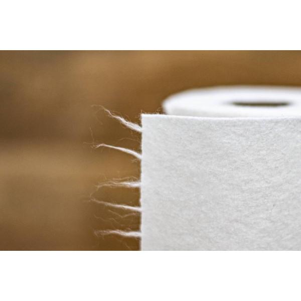 Plastic free bamboo dry wipes 20 pcs / roll
