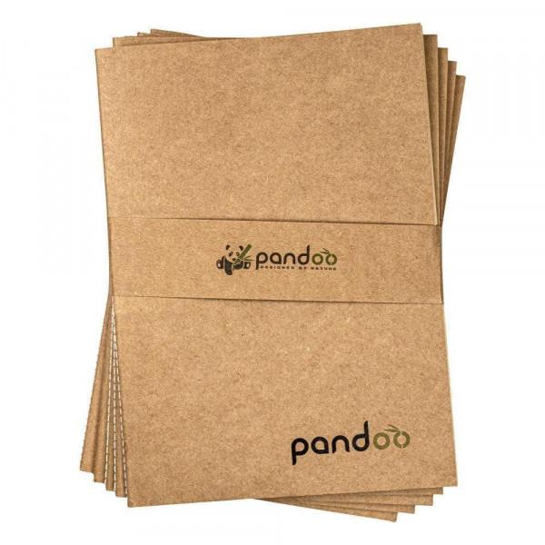 Újrahasznosított bambusz füzet A5 vagy A4 mére...