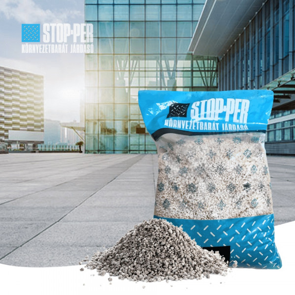 Stop-Per perlite environment friendly de-icer for ...