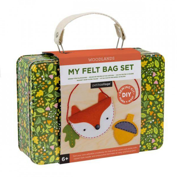 My felt bag and coin purse kit