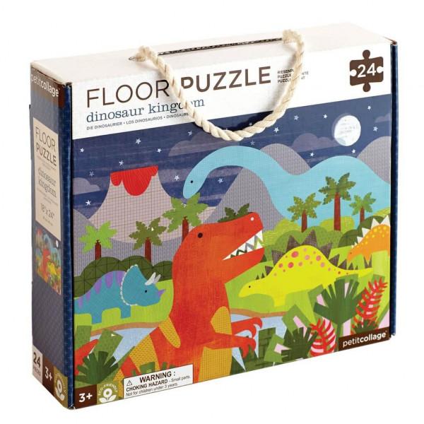 Dinosaur floor puzzle, 24 pcs