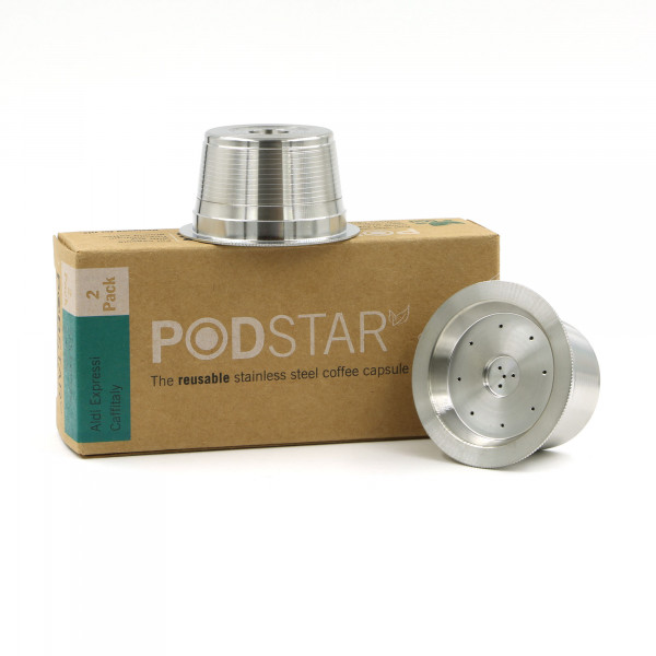 Pod Star Single for Aldi K-fee, Caffitaly, Verismo...