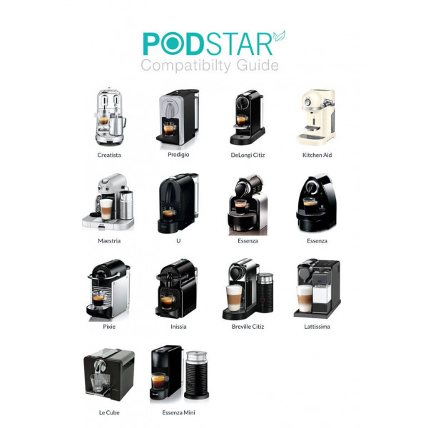Pod Star Single for Nespresso®