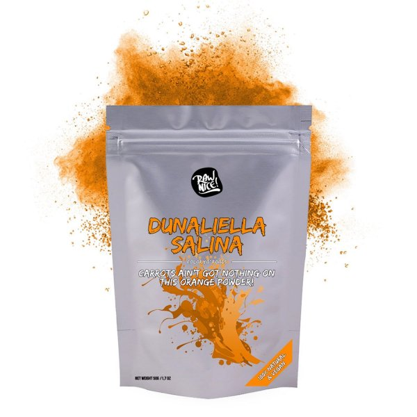 DUNALIELLA SALINA POWDER - 100% natural, vegan ora...