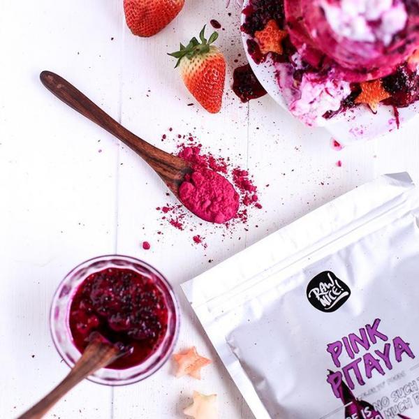 PINK PITAYA pink ételfesték por- 100% természet...
