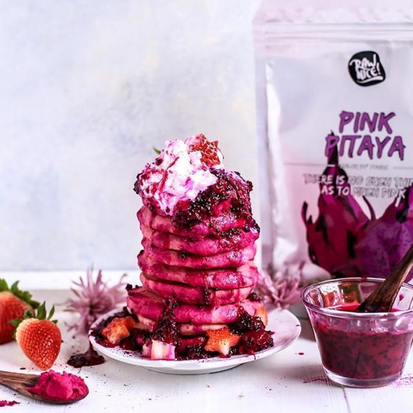 PINK PITAYA POWDER - 100% natural, vegan -